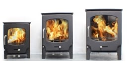 Saltfire ST1 Vision Wood burning Stove