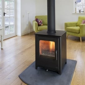 Loxton 8 Double Sided Woodburning Stove